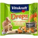 Vitakraft Mini Drops sárgarépás jutalomfalat nyúlnak